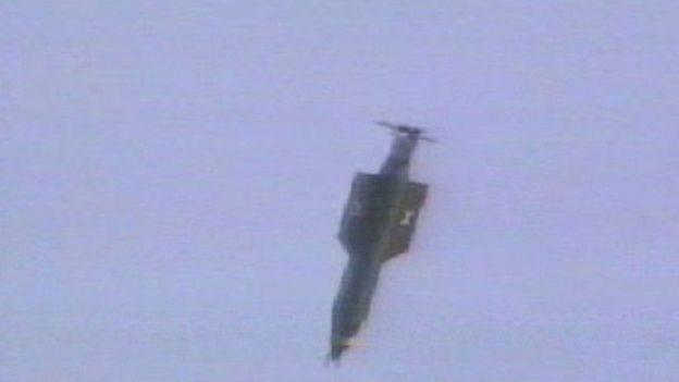 GBU-43 вперше випробували у 2003 році і раніше під час бойових дій не застосовували