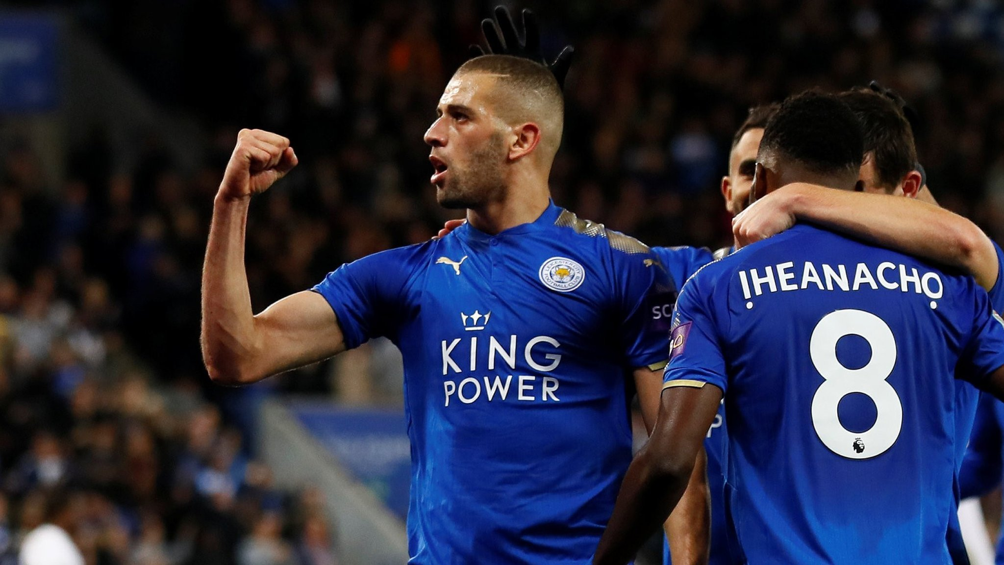Iheanacho on target as Leicester see off Leeds
