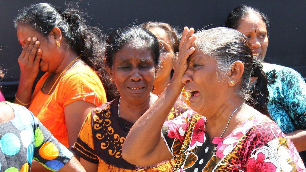 سری لنکا میں دھماکے: 'حملوں کی ذمہ دار قومی توحید جماعت ہے'