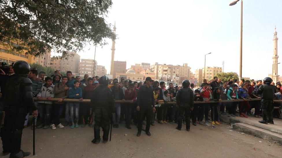 Mesir, Helwan, Koptik