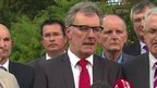 "UUP leader Mike Nesbitt described the Northern Ireland Executive as a ""busted flush"""