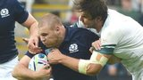 Scotland's Gordon Reid is challenged by South Africa's Lodewyk de Jager
