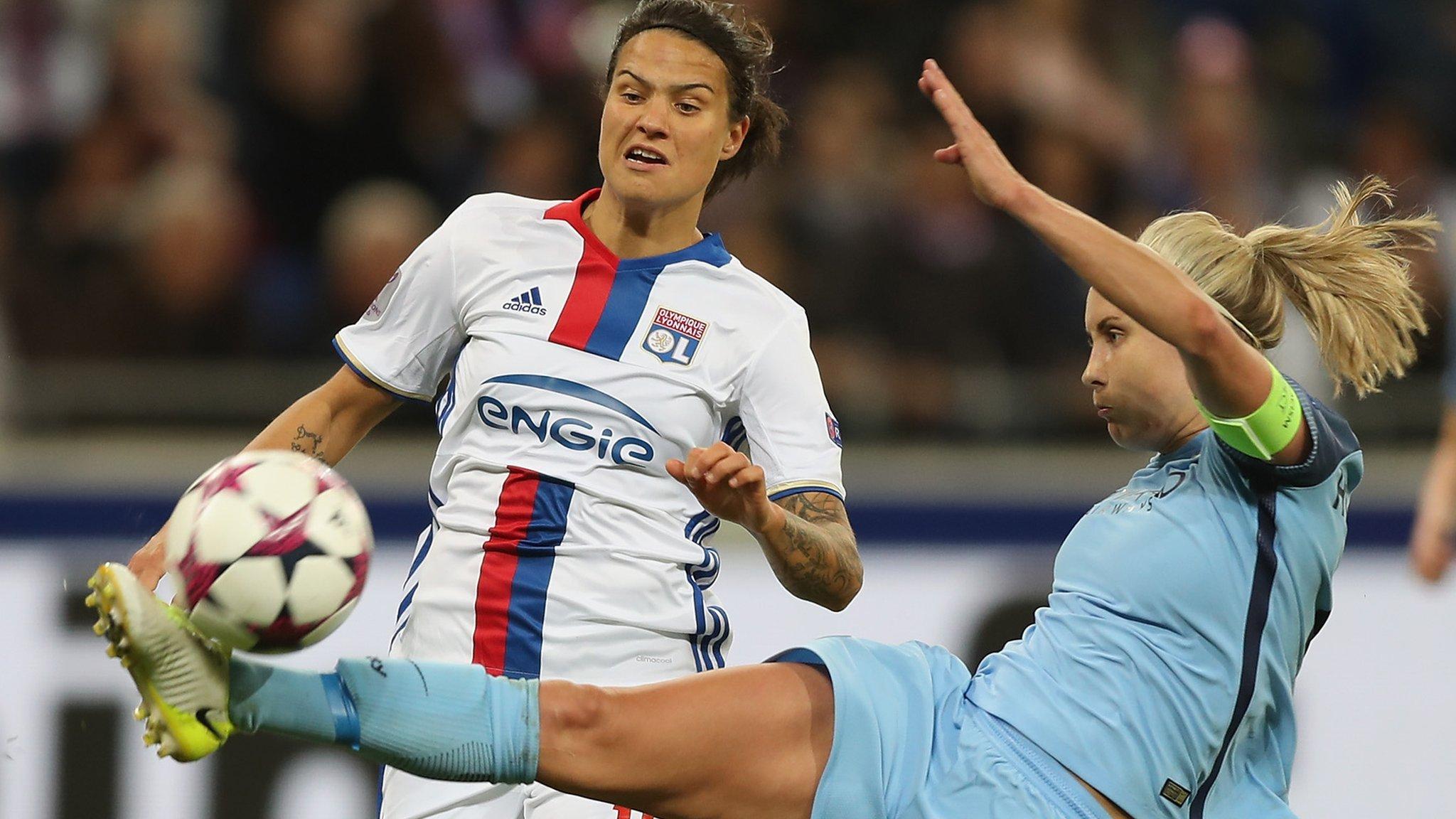 Man City exit Women's Champions League despite win in Lyon