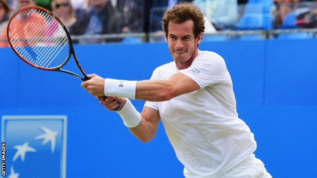 Andy Murray prepared for Wimbledon by winning his fourth Queen's Club title