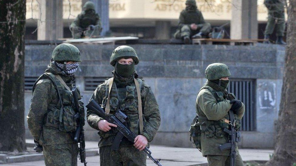 Trump afirmó que quiere que Rusia le devuelva la península de Crimea a Ucrania.