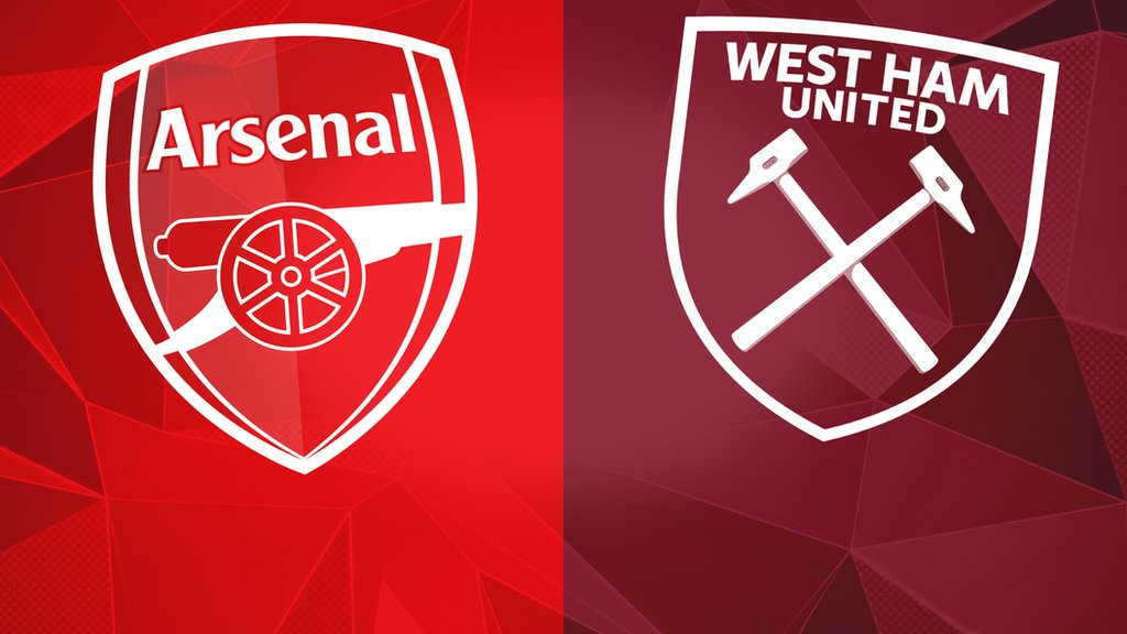 Image result for arsenal vs west ham