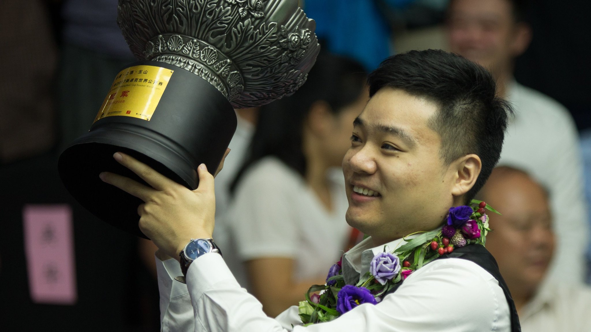 World Open: Ding Junhui beats Kyren Wilson 10-3 in China
