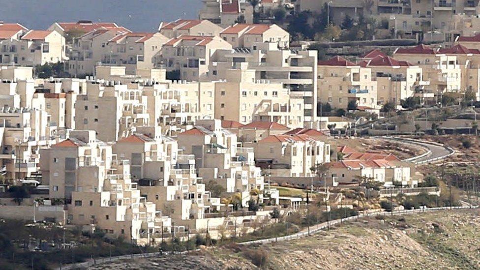 مستوطنات اسرائيلية