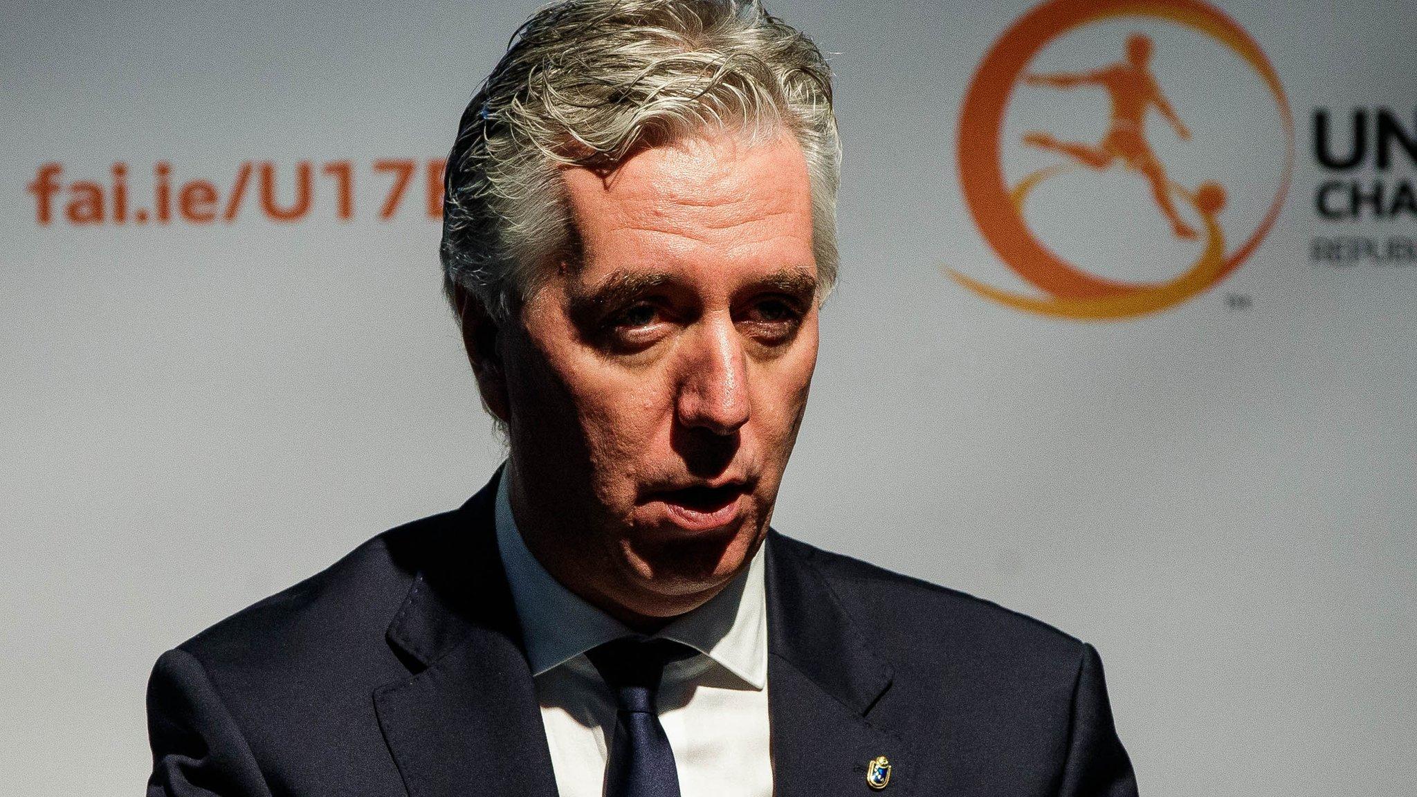 Football Association of Ireland: Sponsors demand board adopt any reforms