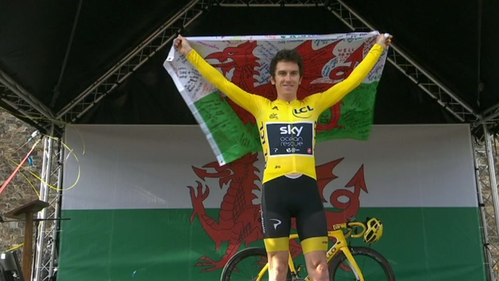 Welsh velodrome renamed after Tour winner Thomas