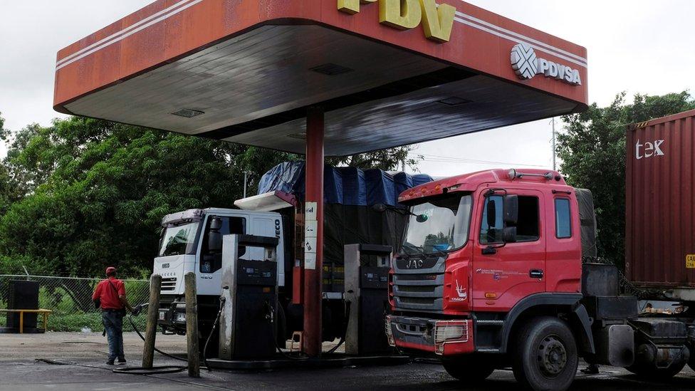 US hits 'corrupt' Venezuela oil firm PDVSA with sanctions