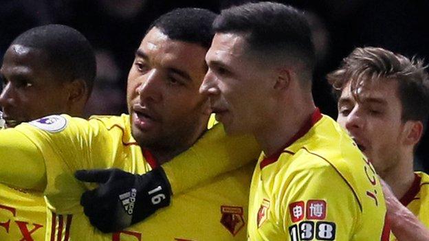 Late Deeney goal sinks sorry Everton