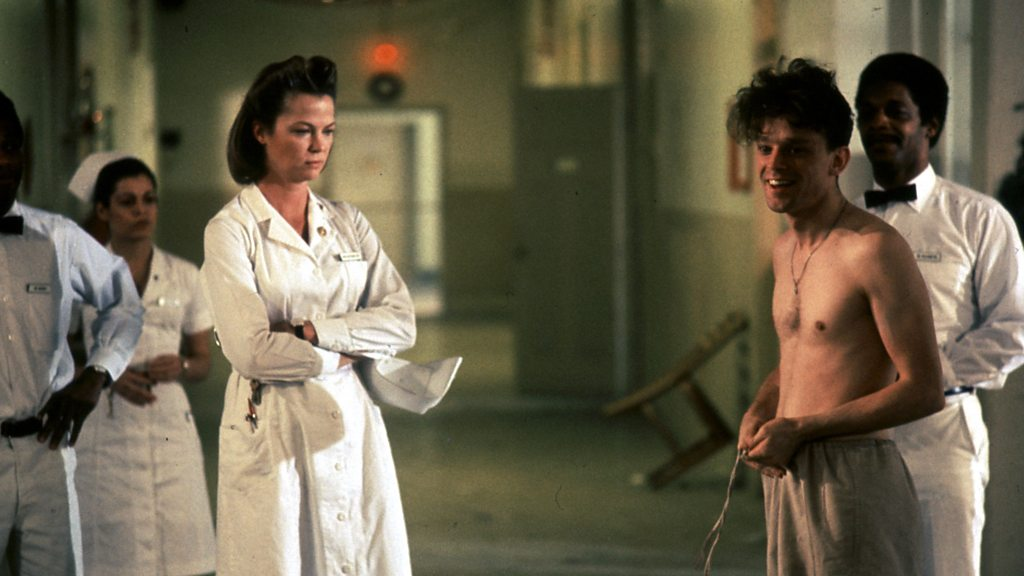 an analysis of nurse ratcheds methods of controlling the patients in ken keseys novel one flew over  Novel summaries analysis about the authors one flew west, one flew over the cuckoo's nest although mcmurphy's power over nurse ratched eventually ends.