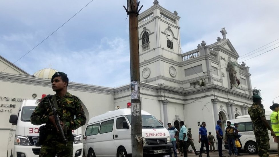 Sri Lanka explosions: 20 killed as churches and hotels targeted
