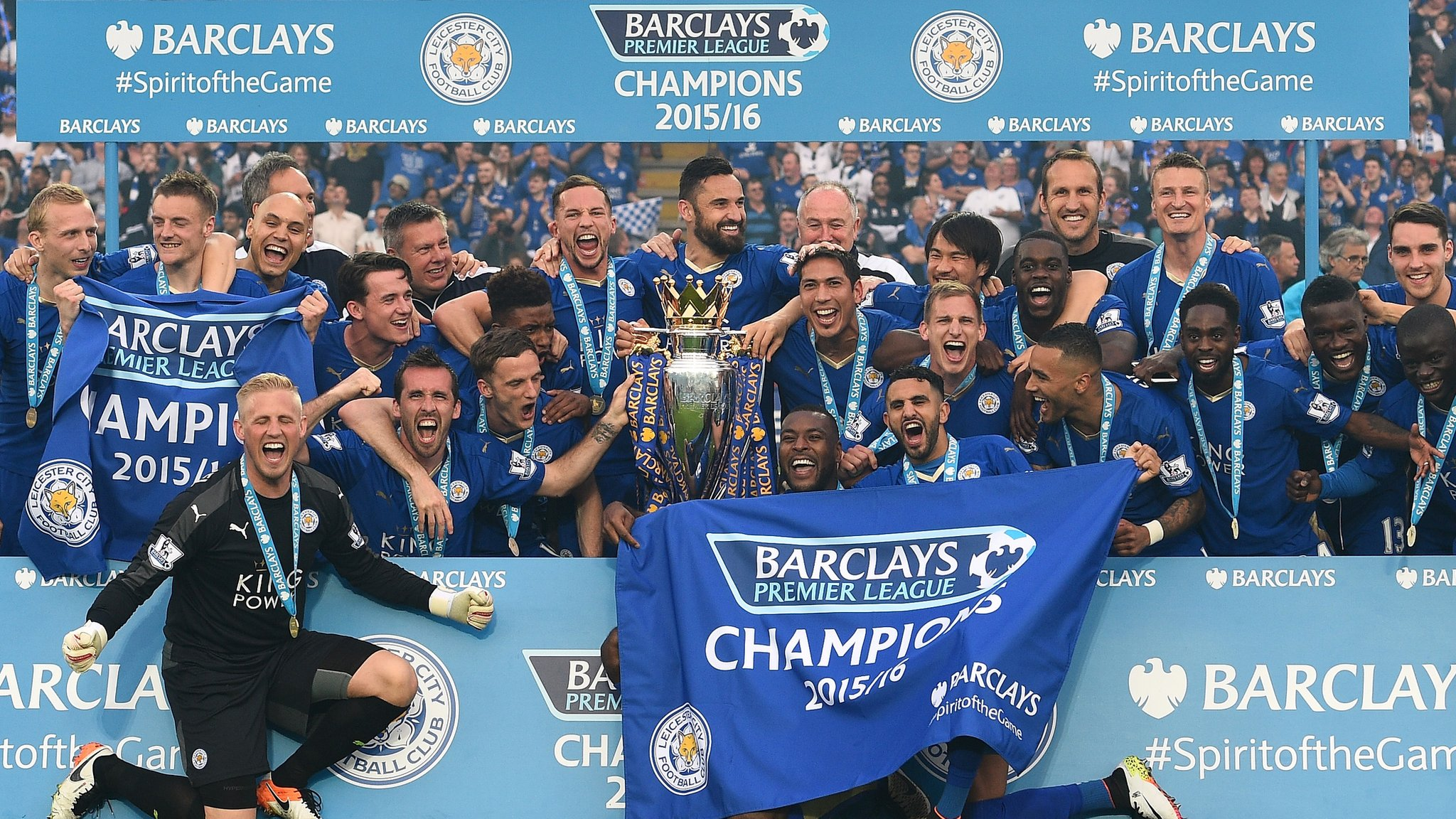 Leicester set for maiden Champions League draw