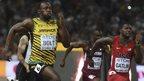 VIDEO: Bolt beats Gatlin for sprint double
