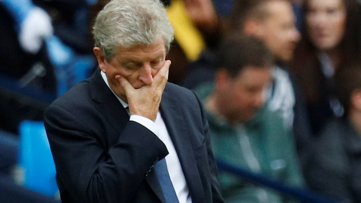 Roy Hodgson says Crystal Palace must 'find aspirin' after Man City defeat