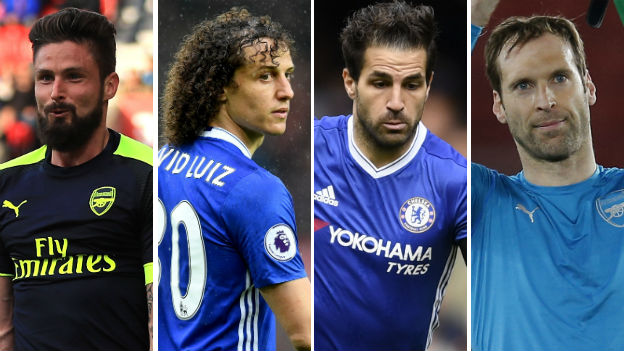 FA Cup final: Select your Arsenal and Chelsea starting XI