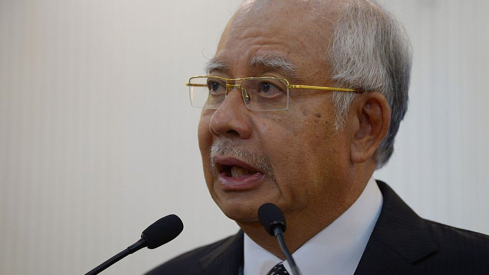 El primer ministro de Malasia, Najib Razak, negó rotundamente haber recurrido a los servicios de la empresa.