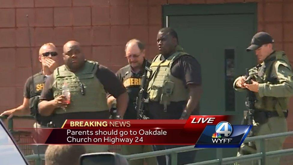 South Carolina school shooter kills dad before rampage