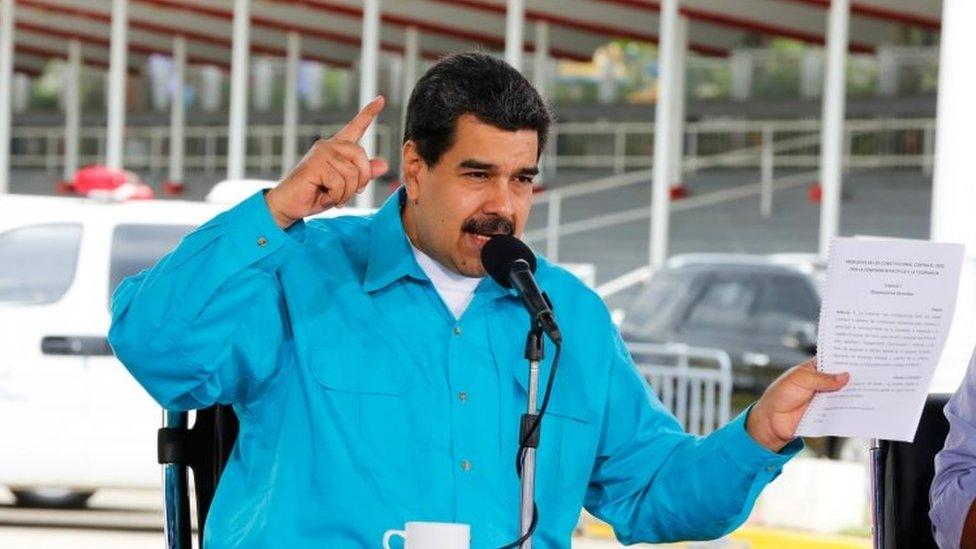 Maduro, en una intervención oficial el pasado 2 de noviembre
