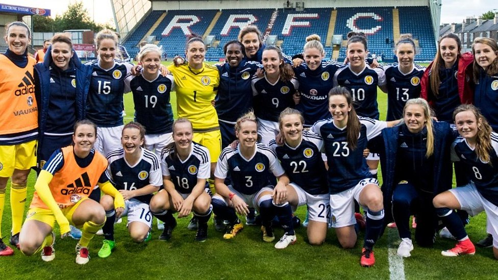 Ban to boom - brief history of women's football in Scotland