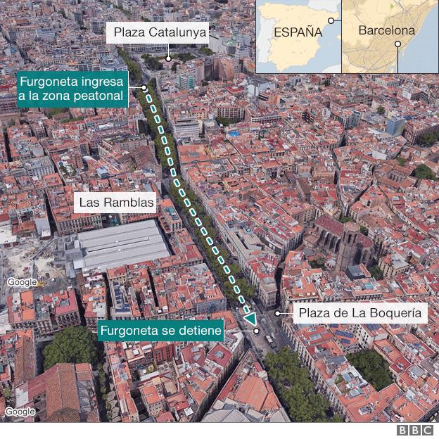 Sube a 14 la cifra de muertos — Atentado en España