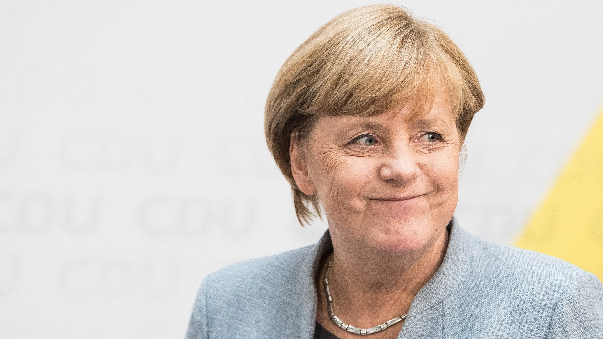 German election: Merkel vows to win back right-wing voters