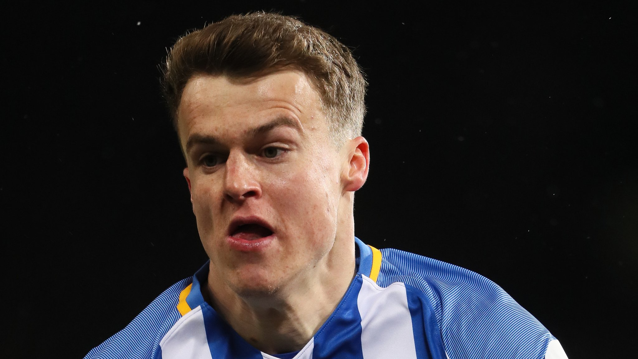 Solly March: Brighton winger feels staying up will be harder after signing new deal