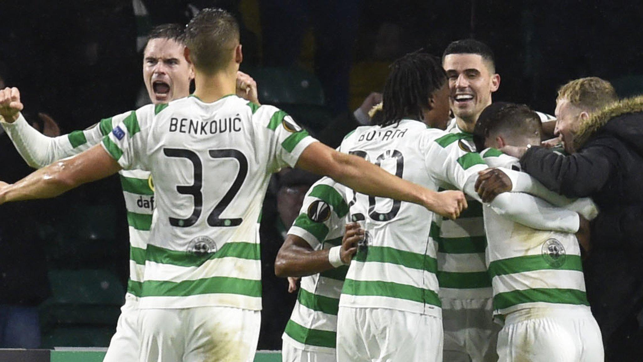 Celtic beat Leipzig to keep last-32 hopes alive