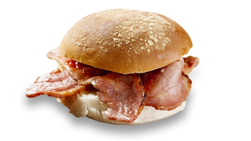 In-flight bacon roll row passenger fined