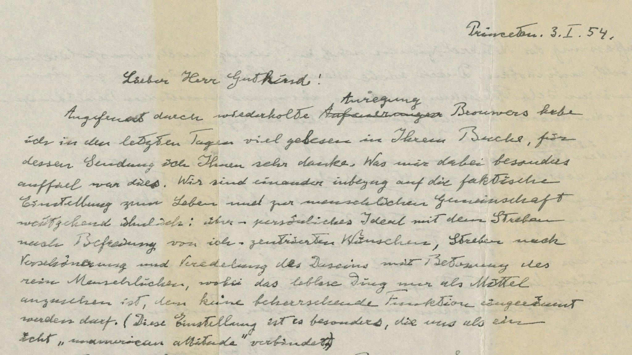 Albert Einstein's 'God letter' sells for $2.9m
