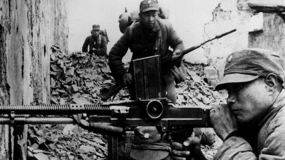 China, Nationalists, Second World War
