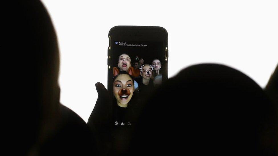 Snapchat mobile phone