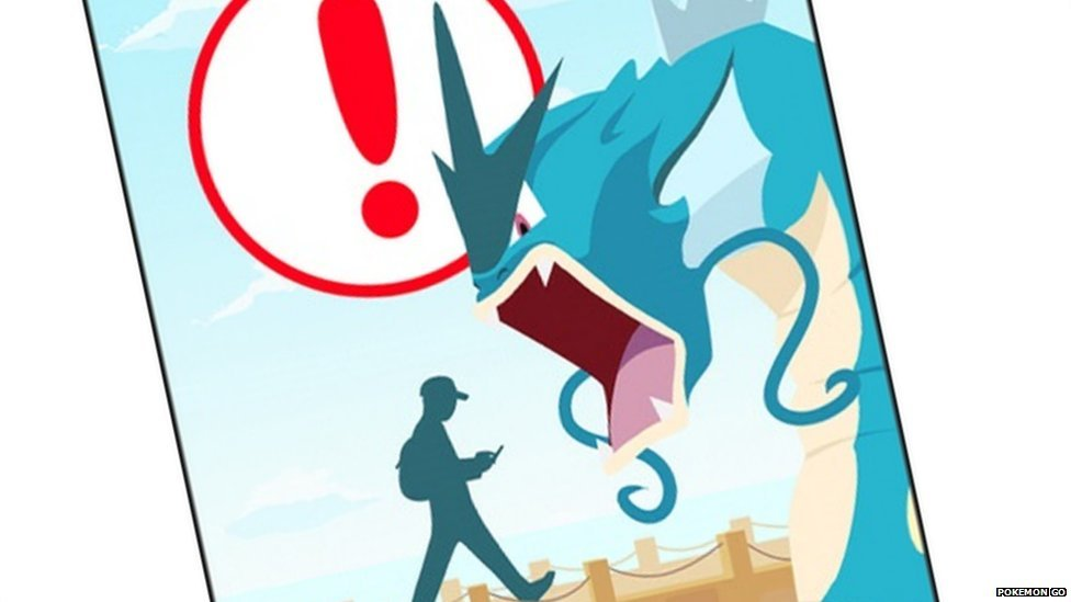 Pokemon Go opening screen