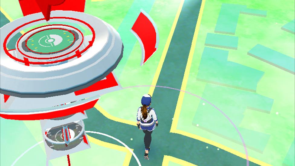 Red Pokemon gym
