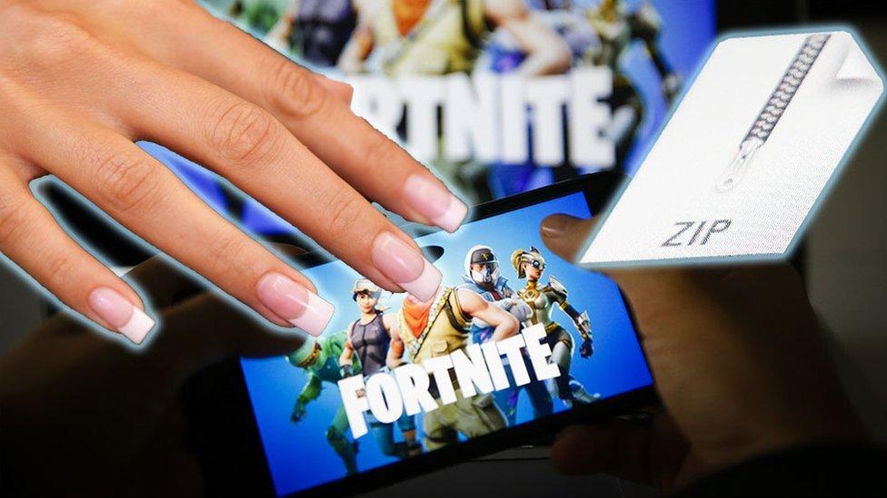 Fortnite, uñas y descargas ilegales