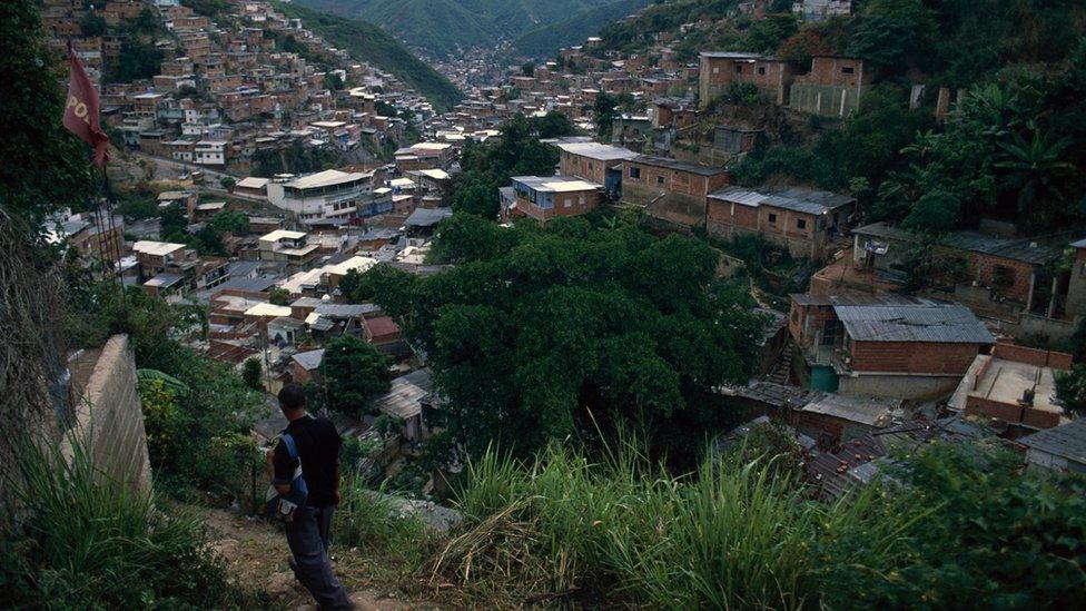 La Vega es un populoso sector de clase trabajadora del oeste de Caracas.