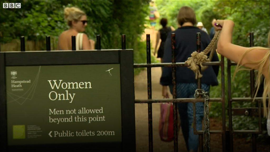Hampstead Heath women-only pond in trans women debate