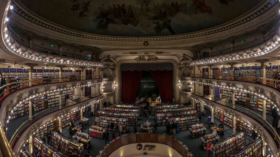 Librería Ateneo en Buenos Aires