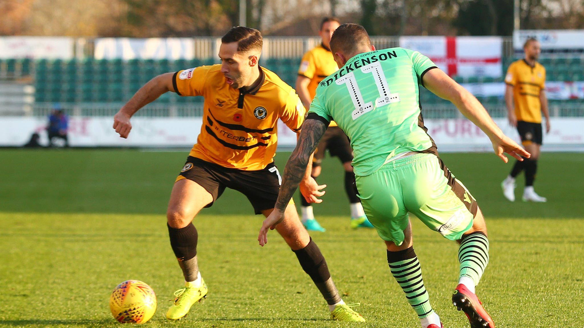 Newport County 2-0 Colchester United