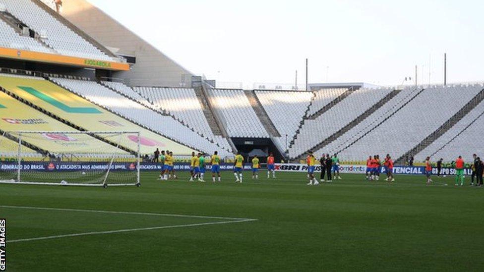 مباراة الأرجنتين والبرازيل