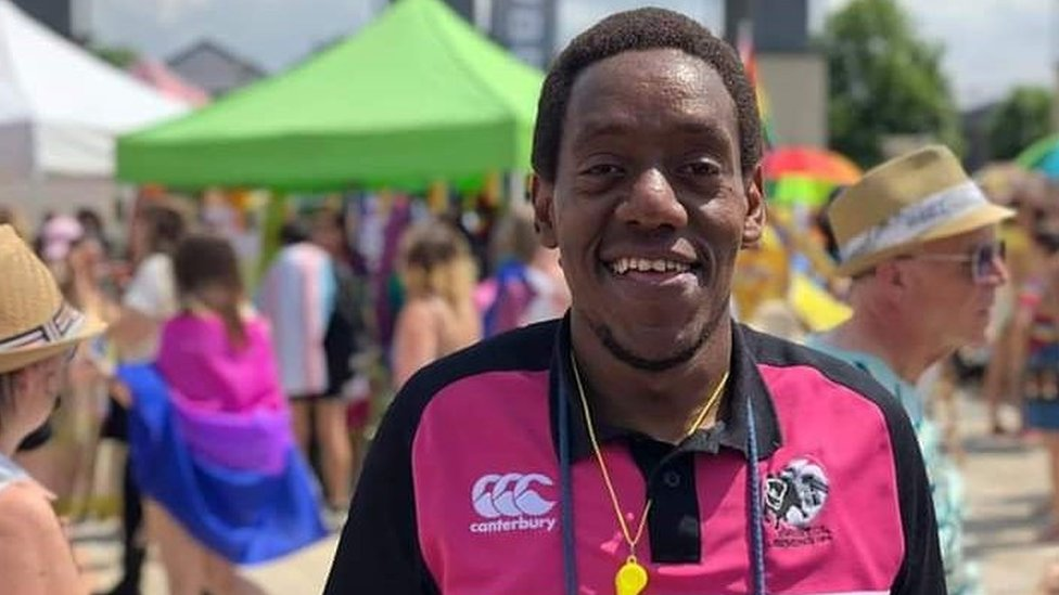 Gay rugby player from Kenya in asylum bid 'limbo'