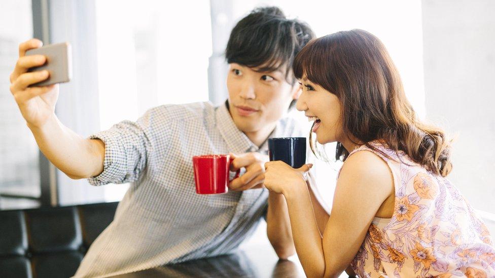 Cita entre dos ciudadanos japoneses.