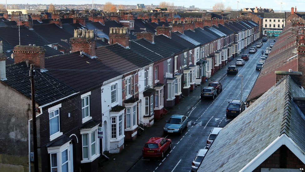 A street in Liverpool