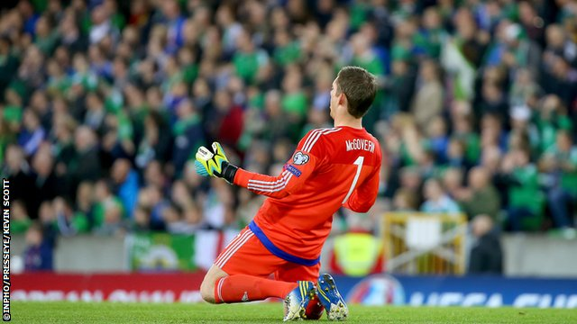 Michael McGovern hopes his success can boost the popularity of football in Co. Fermanagh