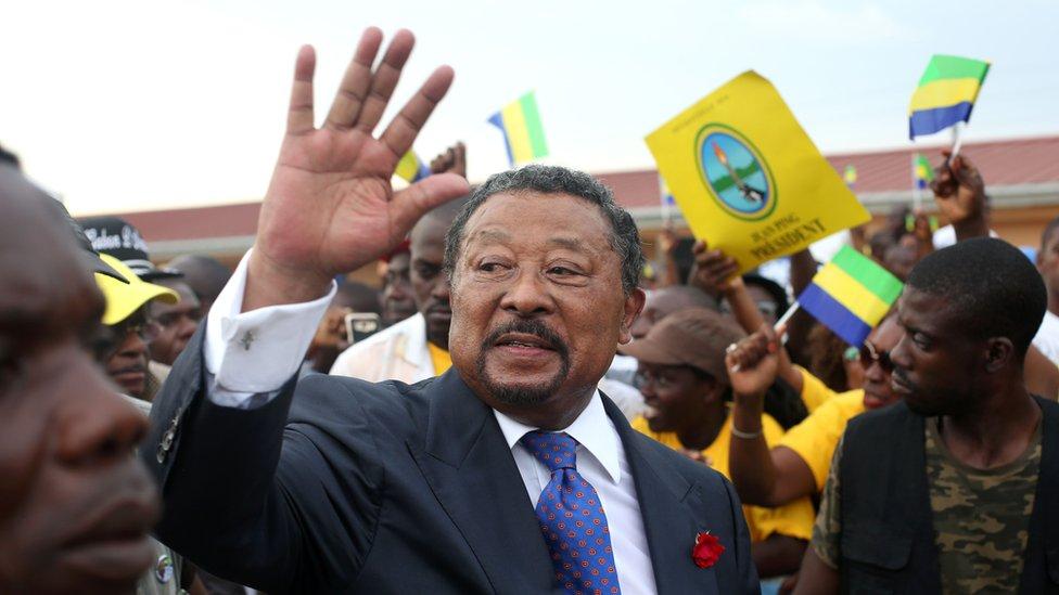Gabon opposition leader Jean Ping. File photo
