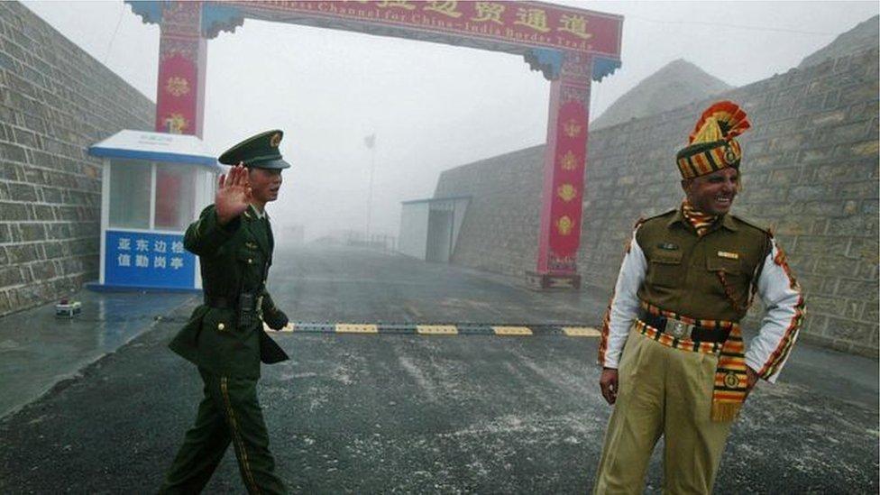 2020年5月上旬的衝突發生在中印邊境錫金段一個山口。