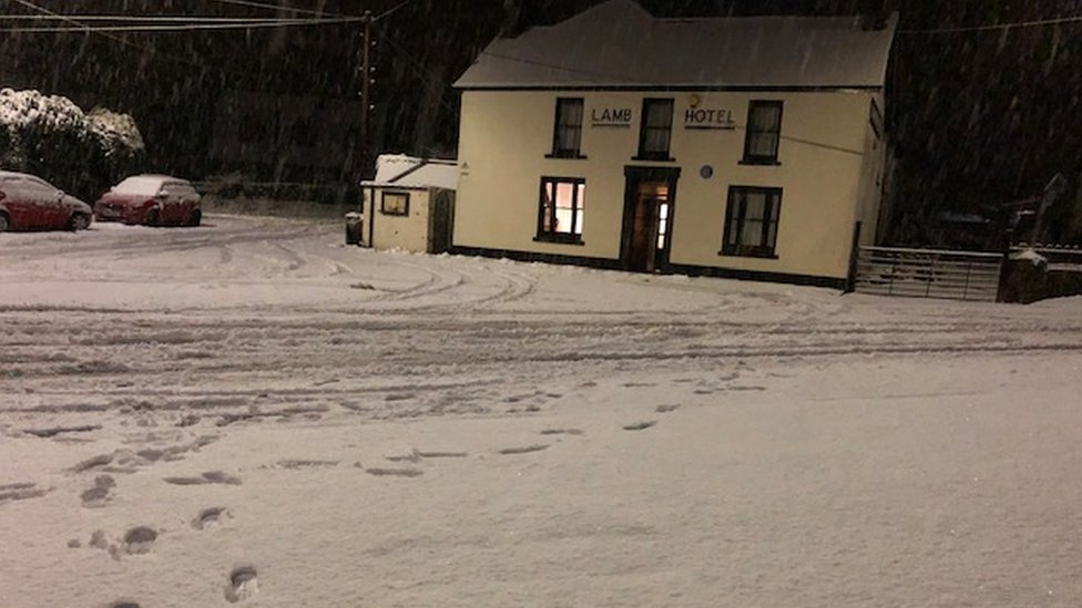 The Lamb Hotel in Penderyn