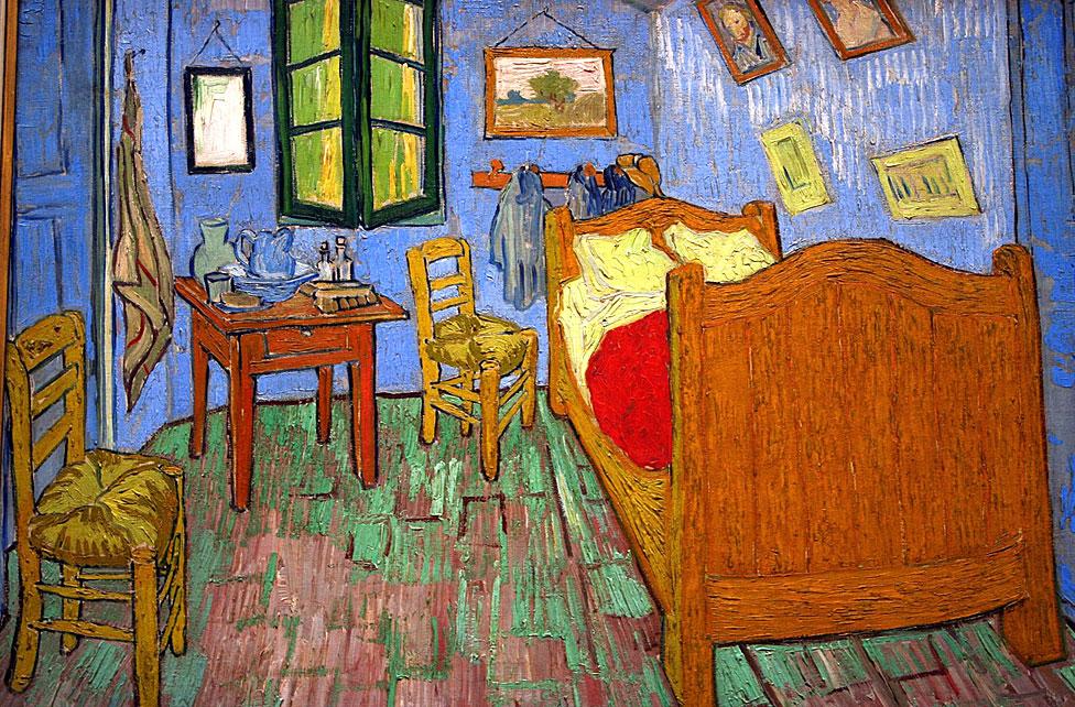 """""""Habitación en Arles"""" de Vincent van Gogh"""
